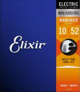 Струны для электрогитары Elixir NANOWEB Light-Heavy Nickel Plated