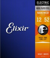 Струны для электрогитары Elixir NANOWEB Heavy Nickel Plated