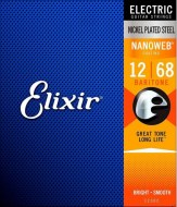 Струны для электрогитары Elixir NANOWEB Baritone Nickel Plated