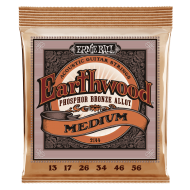 Струны для электрогитары Ernie Ball 2144 Earthwood Medium Phosphor Bronze